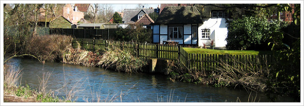 cottage by the River Avon
